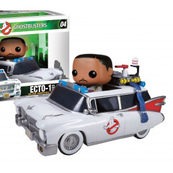 Figurine - Pop! Movies - Ghostbusters - Ecto-1 with Winston - Vinyl - Funko