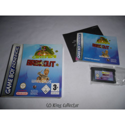 Jeu Game Boy Advance - Centipede / Breakout / Warlords - GBA