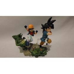 Figurine - Dragon Ball GT - Imagination 1 - Goku & Pan - Bandai