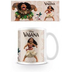 Mug / Tasse - Disney - Vaiana - Characters - 300 ml - Hole in the Wall