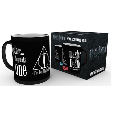 Mug / Tasse - Harry Potter - Thermique Deathly Hallows - GB Eye