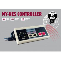 Accessoire - Nintendo - Manette USB forme NES pour PC - Freaks and Geeks