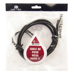 Accessoire - Mega Drive - Cable AV pour Mega Drive 2 - Freaks and Geeks