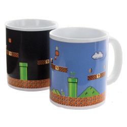 Mug / Tasse - Nintendo - Super Mario Bros Heat Change (Thermique) - Paladone Products