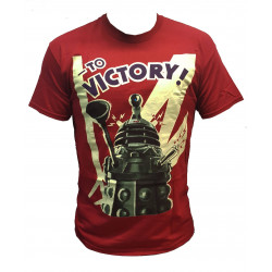 T-Shirt - Doctor Who - Dalek To Victory - Titan Merchandise