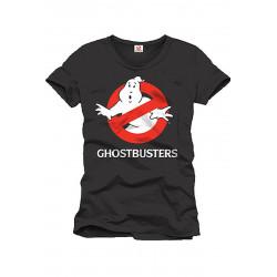 T-Shirt - Ghostbusters - Logo noir - Cotton Division