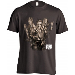 T-Shirt - The Walking Dead - 3 Survivors - Indiego