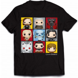 T-Shirt - Game of Thrones - Character Bling Art - Indiego