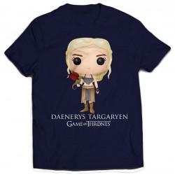 T-Shirt - Game of Thrones - Daenerys Targaryen Bling Art - Indiego