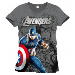 T-Shirt - Marvel - Avengers - Captain America - Cotton Division
