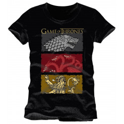 T-Shirt - Game of Thrones - The Houses of the King - Cotton Division