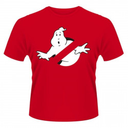 T-Shirt - Ghostbusters - Logo rouge - PHD Merchandise