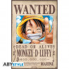 Poster - One Piece - Wanted Luffy - 52 x 35 cm - ABYstyle