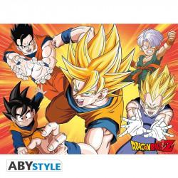 Poster - Dragon Ball - DBZ / Saiyans - 52 x 38 cm - ABYstyle