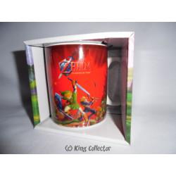 Mug / Tasse - The Legend of Zelda Ocarina of Time 3D (rouge) - Together Plus