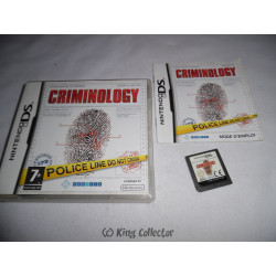 Jeu DS - Criminology