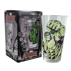 Verre - Marvel - Hulk - Thermo-réactif - Paladone Products