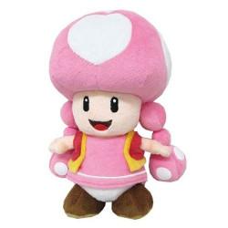 Peluche - Super Mario Bros. - Toadette - 20 cm - Little Buddy Toys