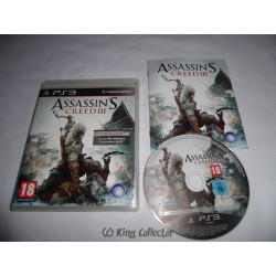Jeu Playstation 3 - Assassin's Creed III - PS3