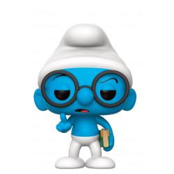 Figurine - Pop! Animation - Schtroumpfs - Schtroumpf à lunettes - Vinyl - Funko