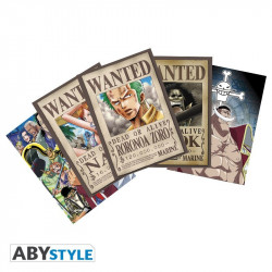 Cartes postales - Set 2 Zoro Wanted & Co - ABYstyle