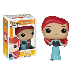 Figurine - Pop! Disney - Ariel la petite Sirène - Ariel Blue Dress - Vinyl - Funko