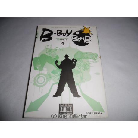 Manga - B-BoY BomB - No 4 - SAD.F - Soleil