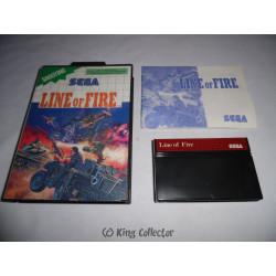 Jeu Master System - Line of Fire