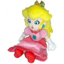 Peluche - Super Mario Bros. - Peach - 20 cm - Little Buddy Toys