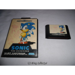 Jeu Mega Drive - Sonic The Hedgehog - MD