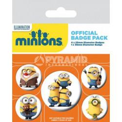 Badge - Les Minions - Minion - Pyramid International