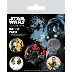 Badge - Star Wars - Rogue One Rebel - Pyramid International