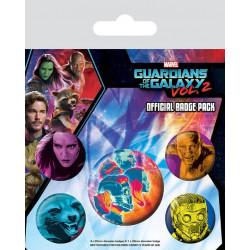 Badge - Marvel - Les Gardiens de la Galaxie vol 2 Cosmic - Pyramid International