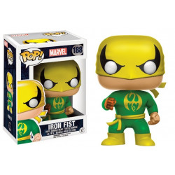 Figurine - Pop! Marvel - Iron Fist - Classic Suit - Vinyl - Funko