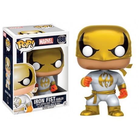 Figurine - Pop! Marvel - Iron Fist - White Suit - Vinyl - Funko