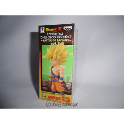 Figurine - Dragon Ball - WCF Battle of Saiyans vol 3 - Goku SSJ - Banpresto