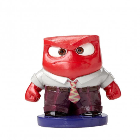 Figurine - Disney - Vice Versa / Inside Out - Colère / Anger - Showcase Collection