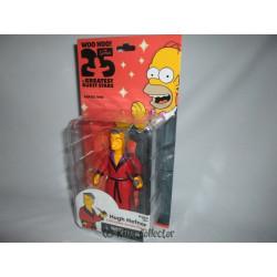 Figurine - Les Simpson 25th Anniversary - Série 1 - Hugh Hefner - NECA
