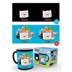 Mug / Tasse - Adventure Time - Characters Heat Change - 300 ml - GB Eye