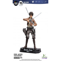 Figurine - Attack on Titan - Color Tops - Eren Jaeger - McFarlane Toys