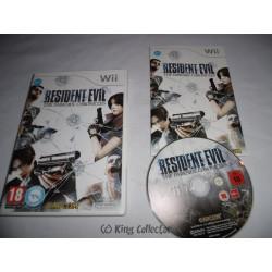 Jeu Wii - Resident Evil : The Darkside Chronicles