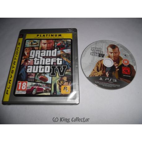 Jeu Playstation 3 - Grand Theft Auto IV (Platinum) - PS3