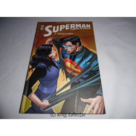 Comic - Superman l'Homme de Demain - No 2 - Révélations - Urban Comics