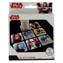 Sous-Verres - Star Wars VIII - Pack de 8 sous verres - Paladone