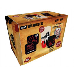 Coffret - The Walking Dead - Bloody hand - Verre + Mug + 2 Sous-Verres - GB Eye