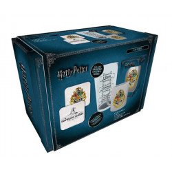 Coffret - Harry Potter - Crests - Verre + Mug + 2 Sous-Verres - GB Eye