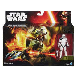 Figurine - Star Wars - B3717 Assault Walker + Stormtrooper Sergeant (Episode VII) - Hasbro