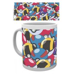 Mug / Tasse - Pokémon - Pokeballs - 300 ml - Hole in the Wall