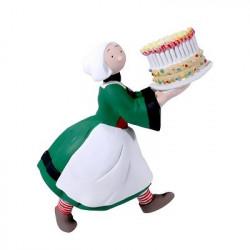 Magnet - Bécassine - Bécassine gâteau anniversaire - Plastoy