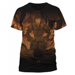 T-Shirt - Ca (It) - Pennywise Sublimation Flame - CID